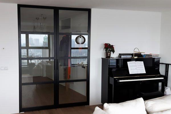 Dubbele stalen taatsdeuren – Rotterdam