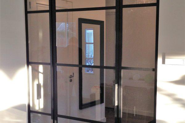 Stalen deur met panelen – Voorschoten