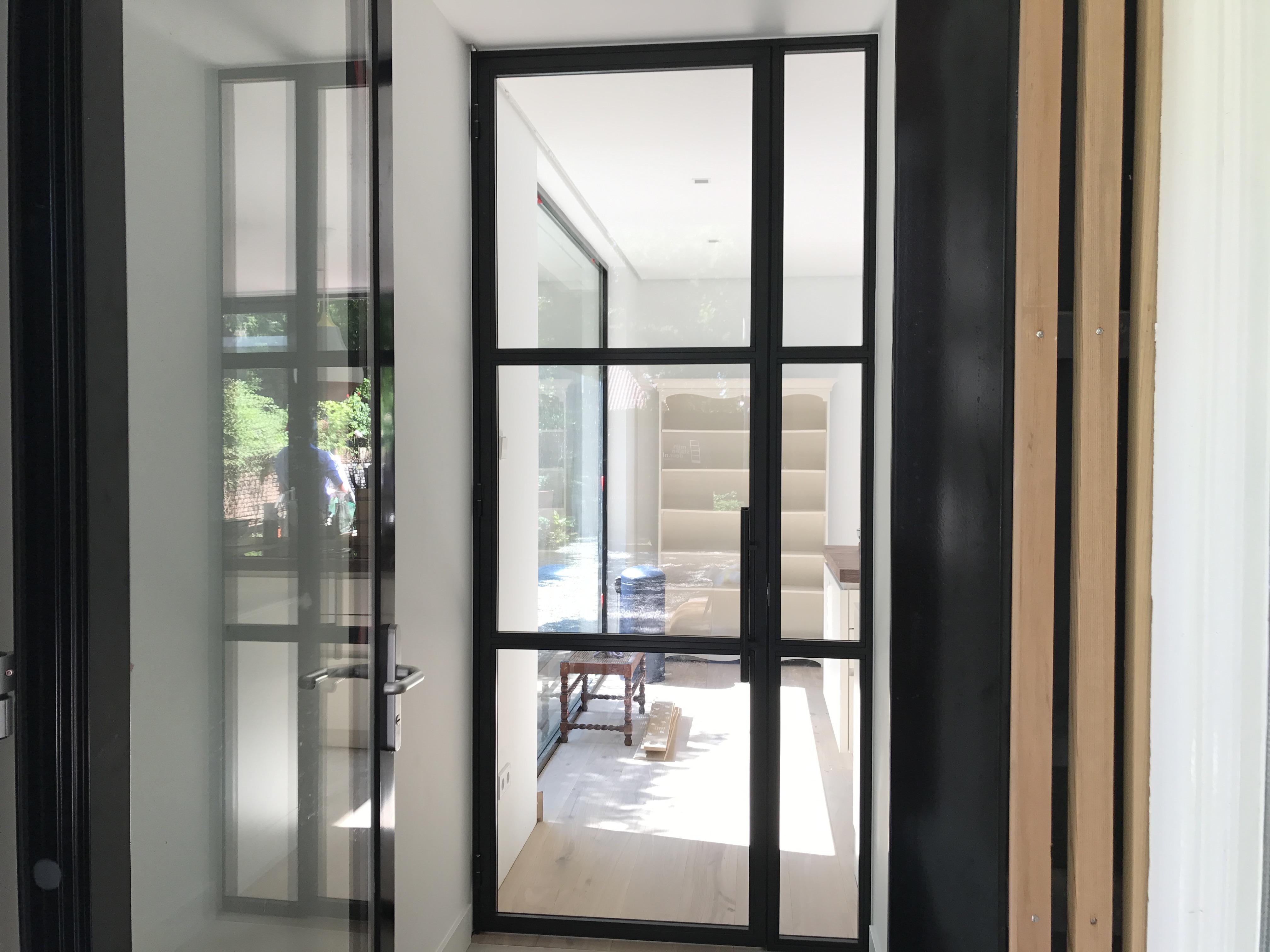 Een Stalen Deur : Stalen deur met zijpaneel tilburg mijn stalen deur