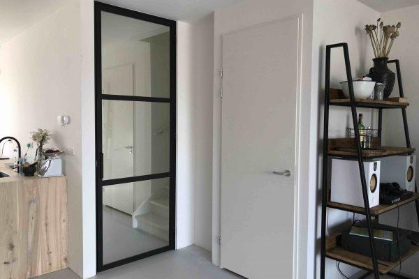 Stalen deur – Almere