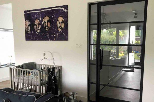Stalen deur – Leiden