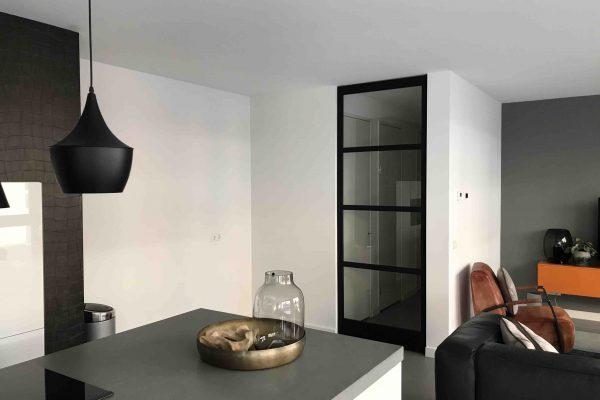 Stalen deur met Frits Jurgens systeem – Den Bosch