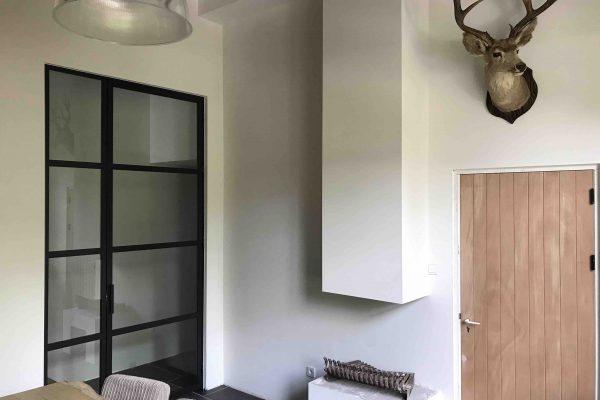 Stalen deur met zijpaneel – Valkenswaard