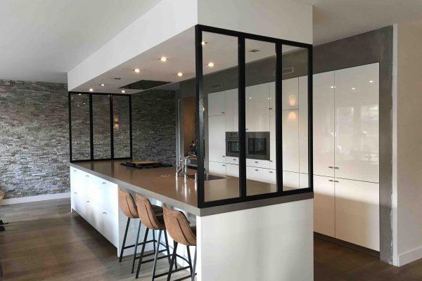 Stalen panelen keukenblad – Rosmalen